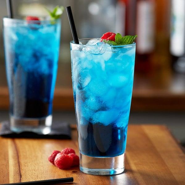 Monin 1 Liter Premium Blue Raspberry Flavoring Syrup