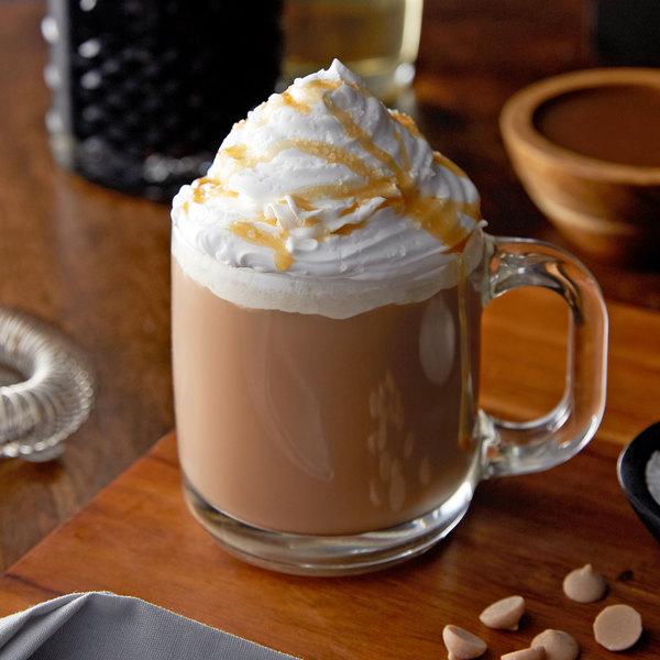 Monin 1 Liter Premium Creme Caramel Flavoring Syrup Main Image 2
