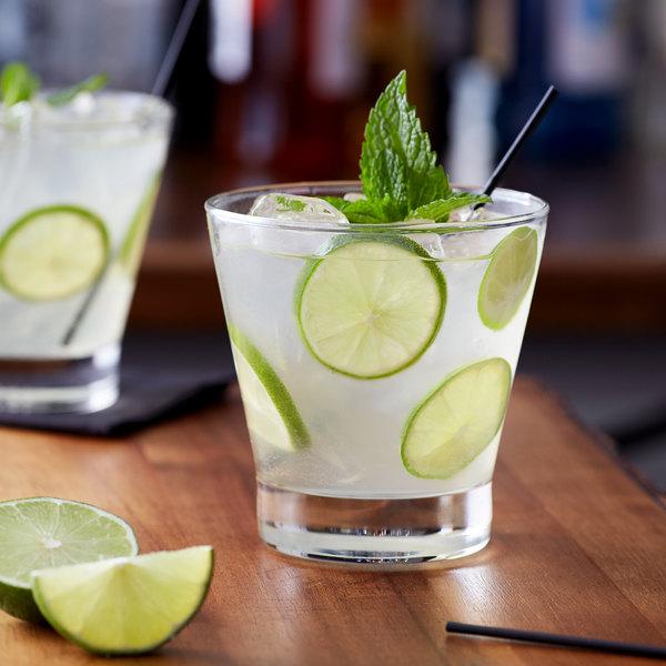 Monin 1 Liter Premium Key Lime Pie Flavoring Syrup Main Image 2