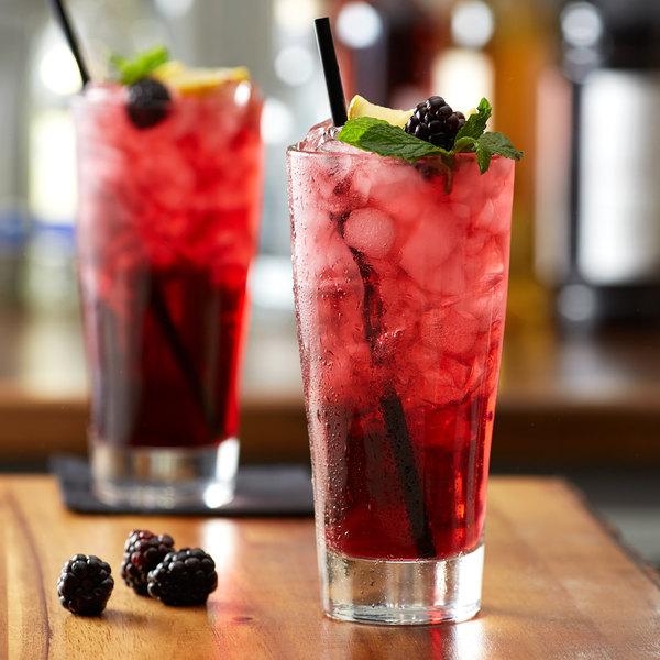 Monin 1 Liter Sugar Free Blackberry Flavoring Syrup Main Image 2
