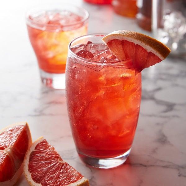 Monin 1 Liter Premium Blood Orange Flavoring Syrup Main Image 2