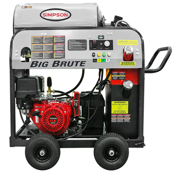 Simpson 65106 Big Brute 49-State Compliant Hot Water Pressure Washer with Honda Engine - 4000 PSI; 4.0 GPM Main Image 1