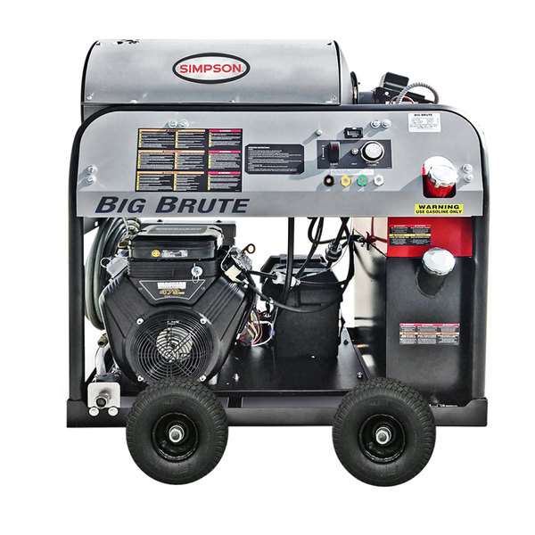 Simpson 65105 Big Brute Hot Water Pressure Washer with Vanguard Engine - 4000 PSI; 4.0 GPM