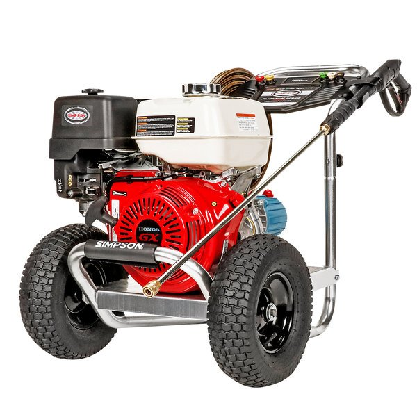 Simpson 60688 Aluminum Series 49-State Compliant Pressure Washer with Honda Engine and 50' Hose - 4200 PSI; 4.0 GPM Main Image 1