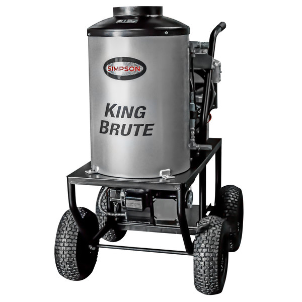 Simpson 65100 King Brute Hot Water Pressure Washer with Briggs and Stratton Engine - 3000 PSI; 2.8 GPM Main Image 1