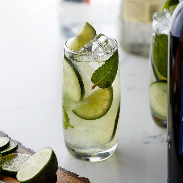 Monin 1 Liter Premium Cucumber Flavoring Syrup Main Image 2