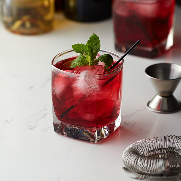 Monin 1 Liter Sugar Free Pomegranate Flavoring Syrup Main Image 2