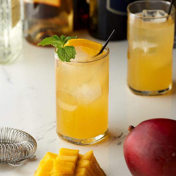 Monin 1 Liter Sugar Free Mango Flavoring Syrup