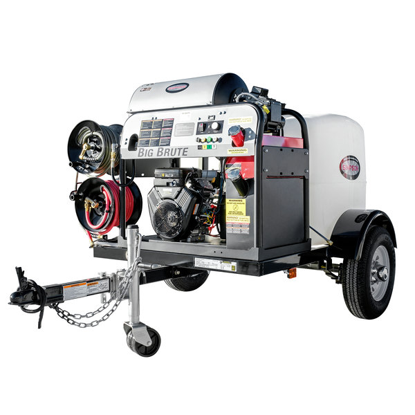 Simpson IB-95006 Trailer Pressure Washer with Vanguard Engine, 100' Hose, and 12V Battery Included - 4000 PSI; 4.0 GPM Main Image 1