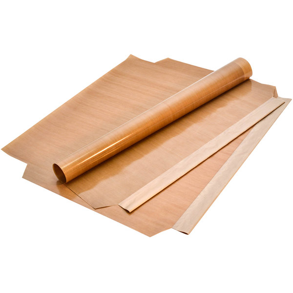 """21 1/4"""" x 23 3/4"""" PTFE Non-Stick Release Sheets for Vulcan VMCS 101 and 201 Grills - 10/Pack Main Image 1"""