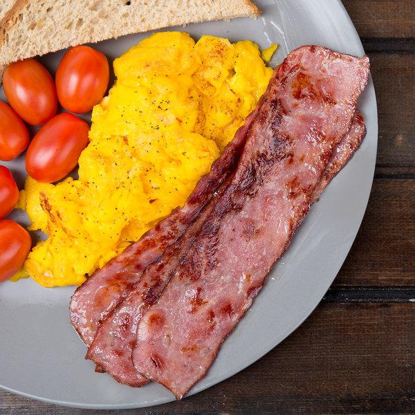 Godshall's Slab 5 lb. Premium Maple Turkey Bacon - 2/Case Main Image 2