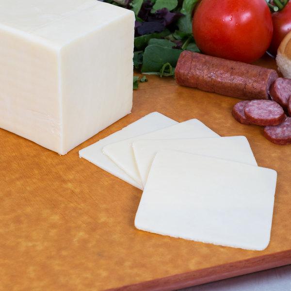 AMPI 5 lb. White Mild Cheddar Cheese - 2/Case Main Image 2