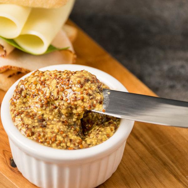 Domaine des Vignes 11 lb. French Whole Grain Mustard - 2/Case Main Image 3