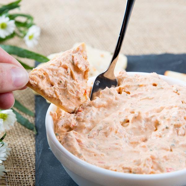 Lancaster County Farms 5 lb. Cajun Crab Dip Cream Cheese Spread - 2/Case
