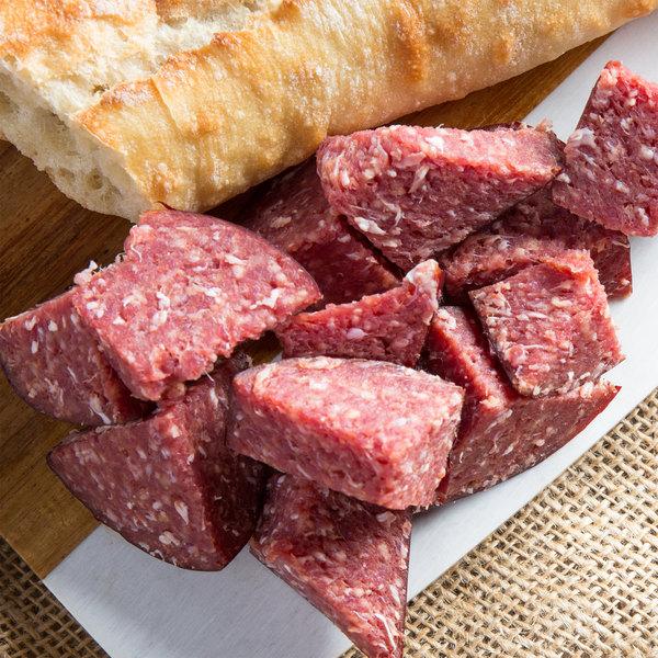 Seltzer's Lebanon Bologna Sweet Bologna 2 lb. Chub - 6/Case Main Image 2
