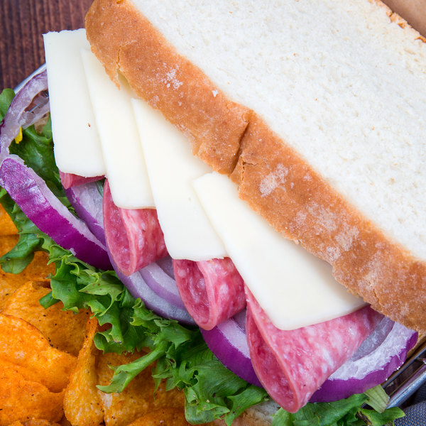 Foremost Farms USA 6 lb. Part Skim Milk Mozzarella Cheese - 8/Case