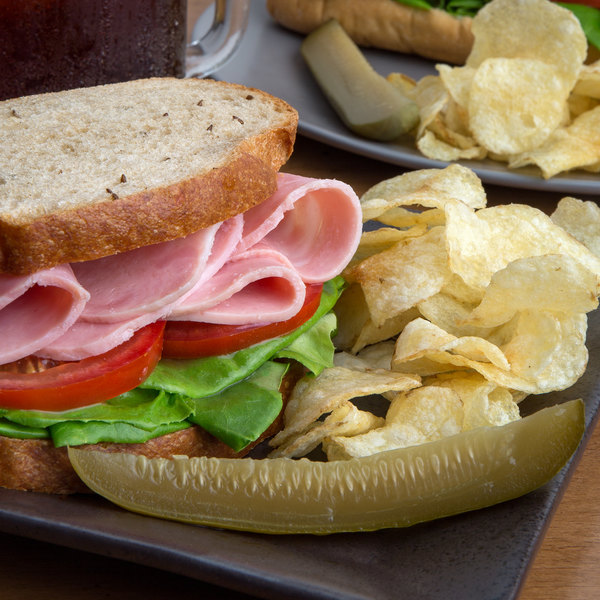 Kunzler 13 lb. Cooked Ham - 2/Case Main Image 3