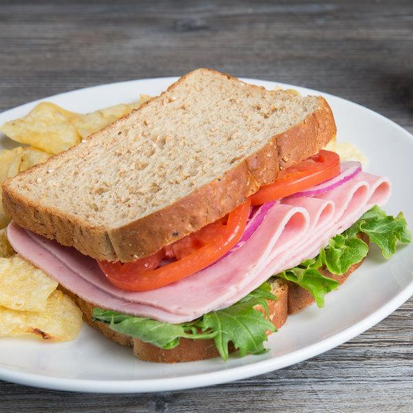 Freda Deli Meats 13 lb. Three Star Cooked Ham - 2/Case