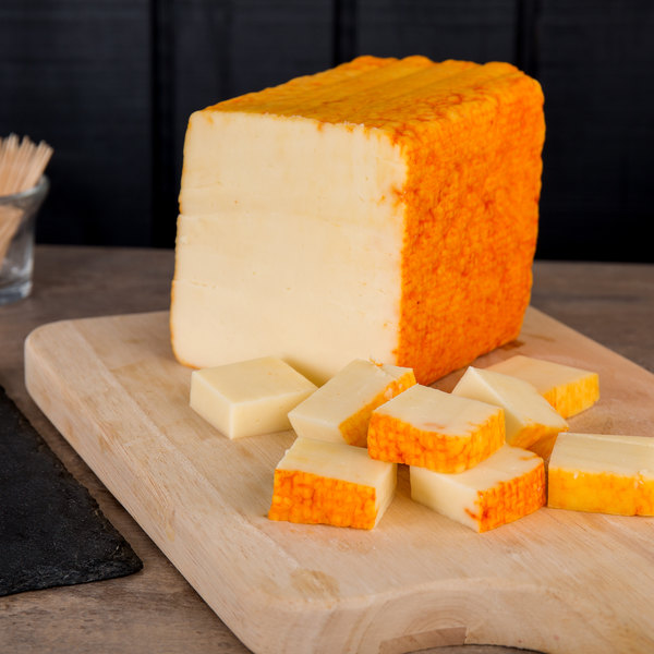Guernsey's Gift 6 lb. Muenster Cheese Block - 6/Case Main Image 2