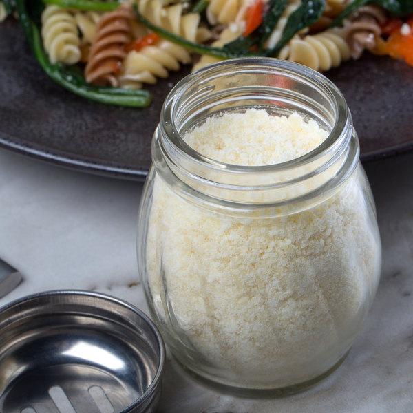 5 lb. Grated Pecorino Romano Cheese - 4/Case