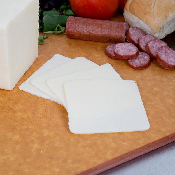 5 lb. Monterey Jack Cheese - 2/Case Main Image 2