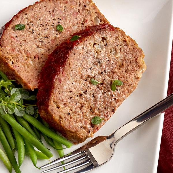 Warrington Farm Meats 5 lb. Frozen Ground Beef 80% Lean 20% Fat - 4/Case Main Image 3