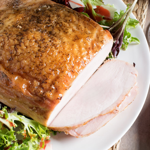 Carolina Turkey Golden Delight 16 lb. Bone-In Turkey Breast - 2/Case