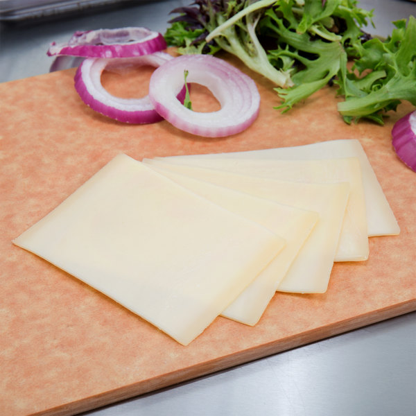 Le Superbe Gruyere Cheese 6 lb. Solid Block - 2/Case Main Image 3