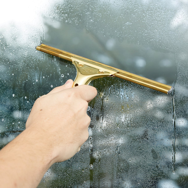 """Unger GS250 GoldenClip Complete Brass 10"""" Window Squeegee Main Image 7"""