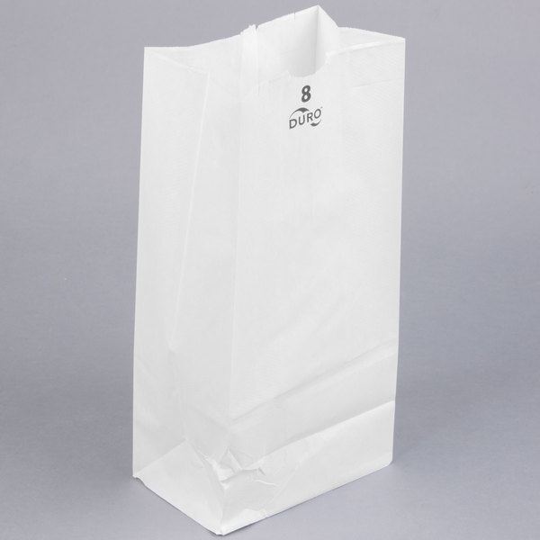 These White Paper Bags Will Give Your Valuable Products The Reliable Protection That They Need And Deserve From Egg Rolls To Freshly Baked Cookies