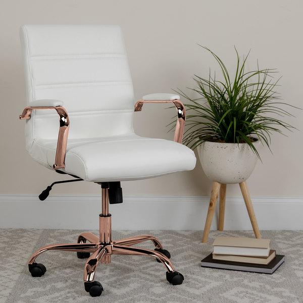 Flash Furniture Go 2286m Wh Rsgld Gg