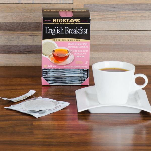 Bigelow English Breakfast Tea Pods - 18/Box Main Image 5