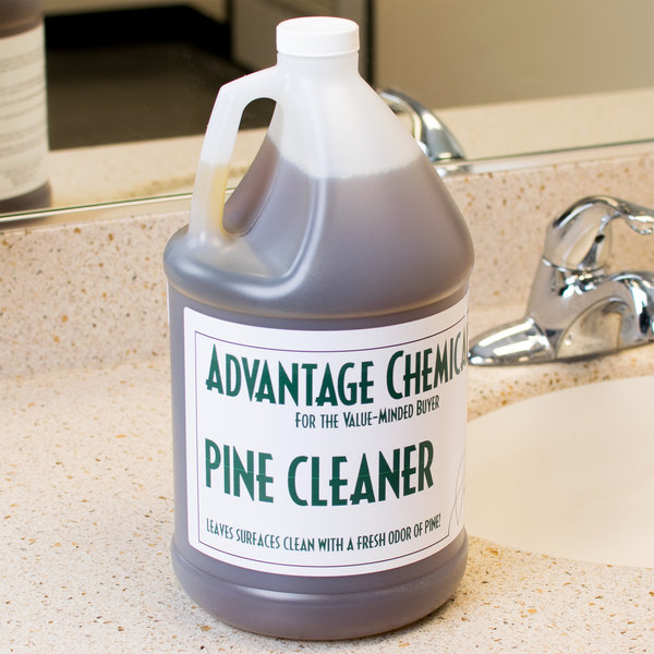 Advantage Chemicals 1 Gallon Pine Cleaner - 4/Case