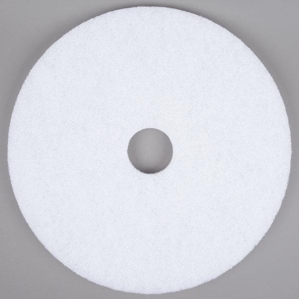"Scrubble by ACS 41-20 Type 41 20"" White Polishing Floor Pad"