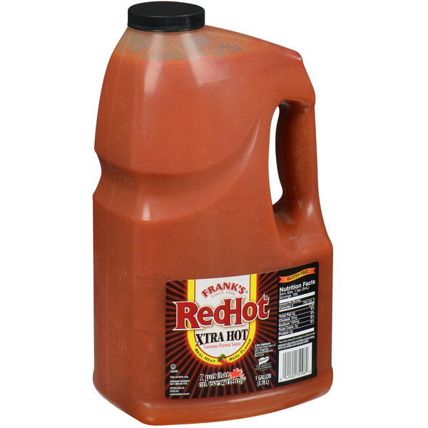 Frank's RedHot 1 Gallon Extra Hot Cayenne Sauce Main Image 1