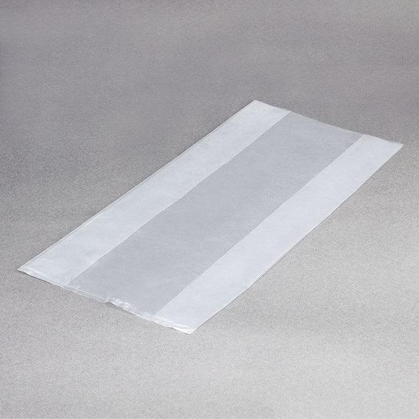 "LK Packaging 20G-074018 Plastic Food Bag 7"" x 4"" x 18"" - 1000/Box Main Image 1"