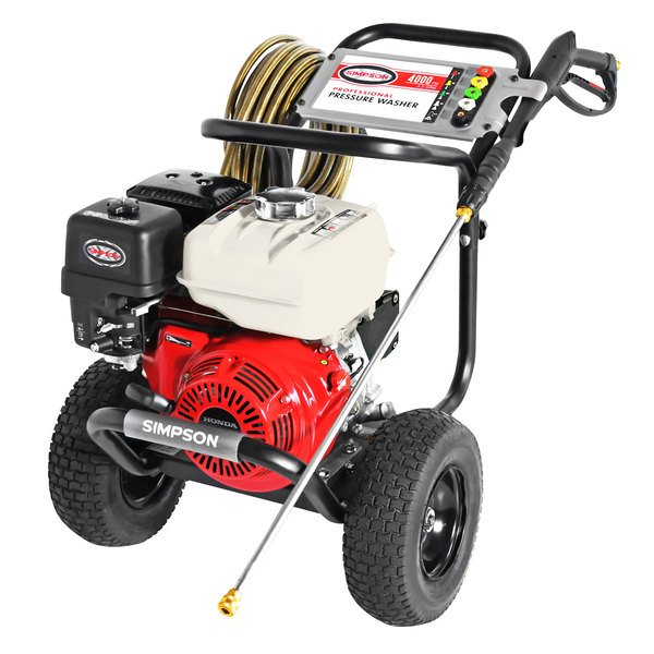 Simpson 60869 Powershot 49-State Compliant Pressure Washer with Honda Engine and 50' Hose - 4000 PSI; 3.5 GPM Main Image 1