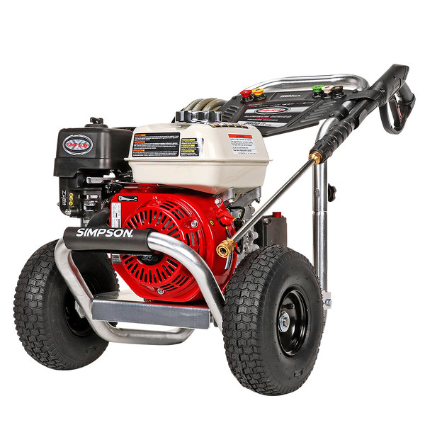 Simpson 60689 Aluminum Series Pressure Washer with Honda Engine and 35' Hose - 3600 PSI; 2.5 GPM Main Image 1