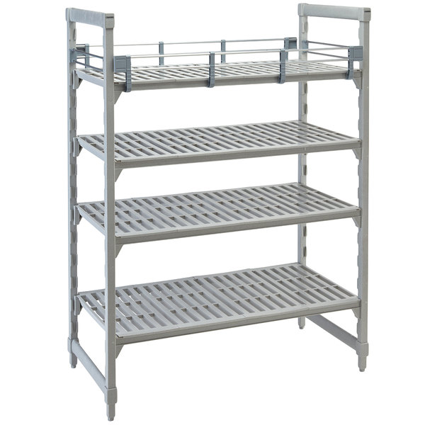 """Cambro CPR2172151 Full Shelf Rail Kit for 21"""" x 72"""" Cambro Camshelving® Premium Stationary or Mobile Units Main Image 1"""