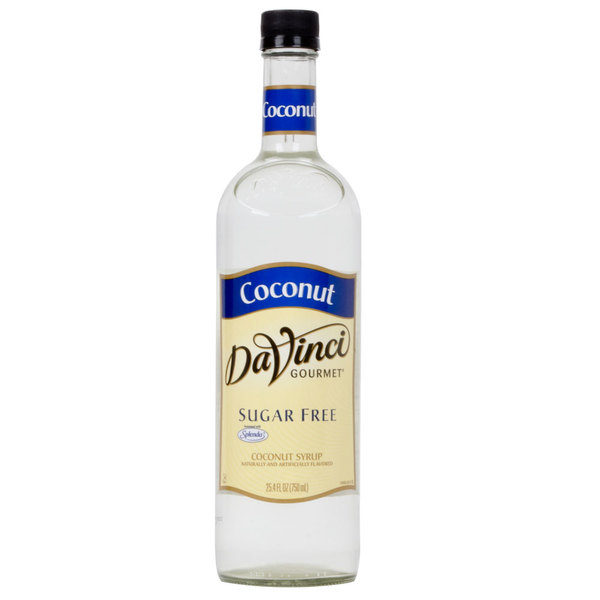 DaVinci Gourmet 750 mL Coconut Sugar Free Coffee Flavoring Syrup