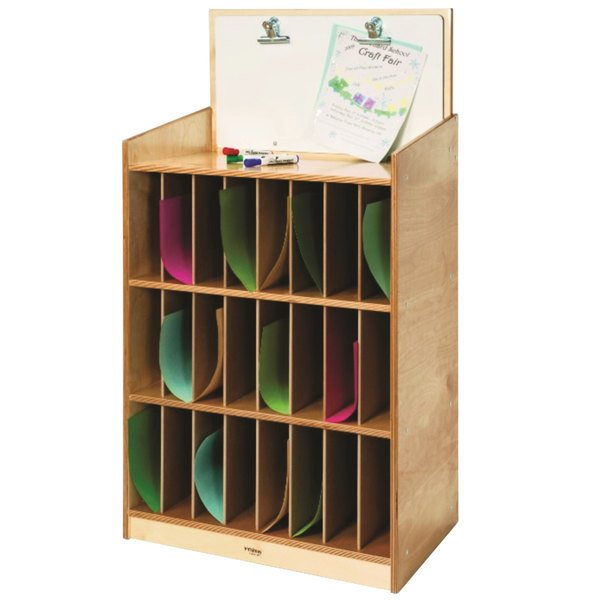 Whitney Brothers Wb0984 24 12 X 14 34 X 46 12 Childrens Wood Mail And Message Center
