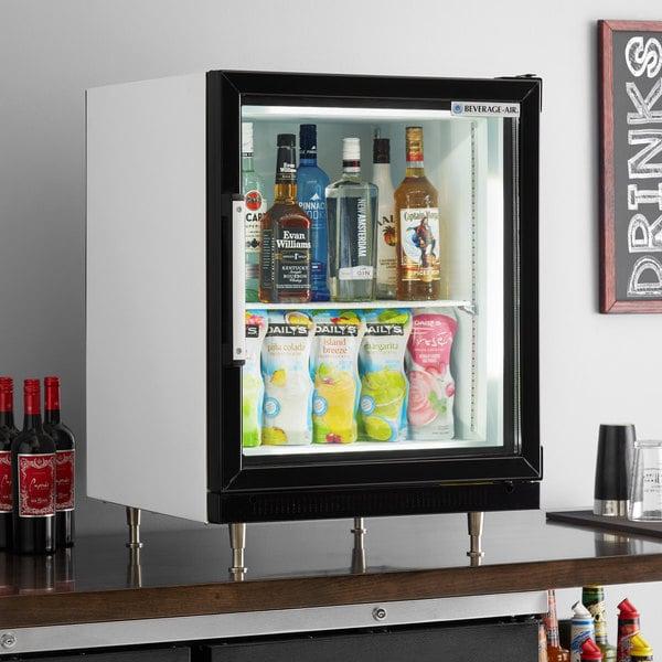 Beverage-Air CF3HC-1-W White Countertop Display Freezer with Swing Door Main Image 5