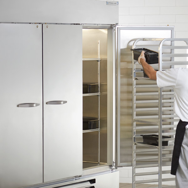 """Beverage-Air HBR72HC-1 Horizon Series 75"""" Bottom Mounted Reach-In Refrigerator with LED Lighting"""