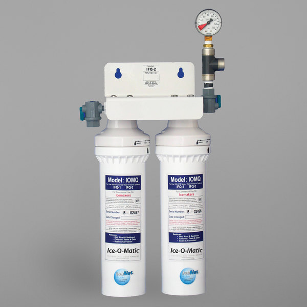 Ice-O-Matic IFQ2 Double Ice Machine Water Filter - 0.5 Micron and 3 GPM Main Image 1
