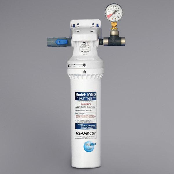 Ice-O-Matic IFQ1-XL Single Ice Machine Water Filter - 0.5 Micron and 2.25 GPM Main Image 1