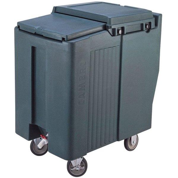 Cambro ICS125T191 SlidingLid™ Granite Gray Portable Ice Bin - 125 lb. Capacity Tall Model