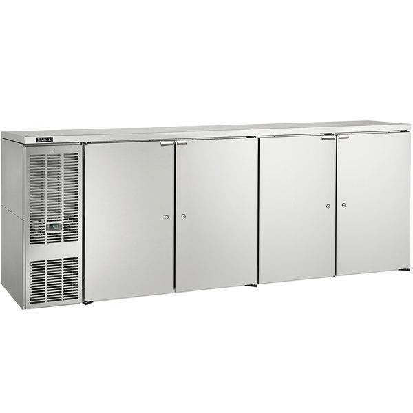 "Perlick DDS108 108"" Stainless Steel Direct Draw Beer Dispenser Refrigerator - (5) 1/2 Keg Capacity Main Image 1"