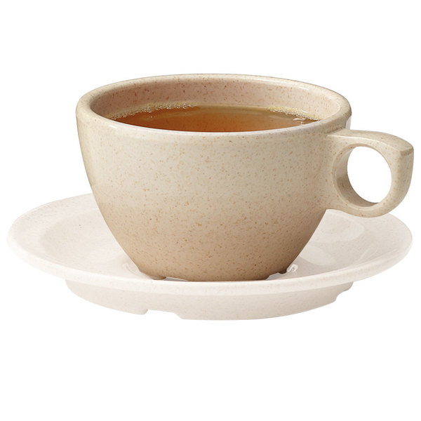 GET BAM-1001 BambooMel 7.5 oz. Ovide Cappuccino Cup - 48/Case Main Image 1