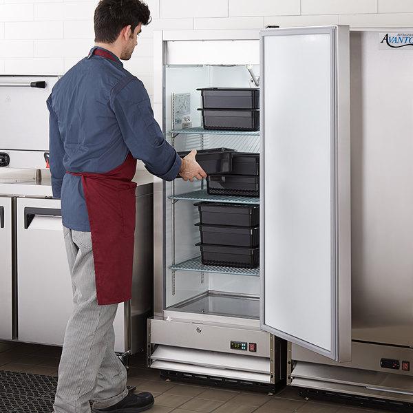 """Avantco A-12F-HC 25"""" Solid Door Reach-In Freezer Main Image 6"""