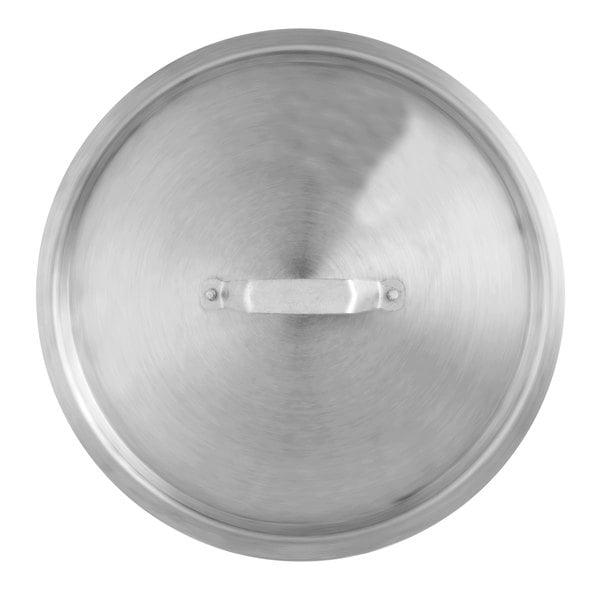"24 3/4"" Aluminum Stock Pot Cover"